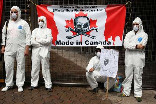 Mineras tóxicas en América Latina porque les prohiben operar en Canadá y  Europa | Zapateando 2